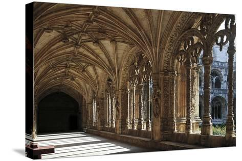 Cloister of Hieronymites Monastery--Stretched Canvas Print