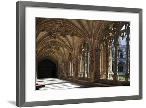 Cloister of Hieronymites Monastery--Framed Art Print