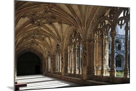 Cloister of Hieronymites Monastery--Mounted Giclee Print