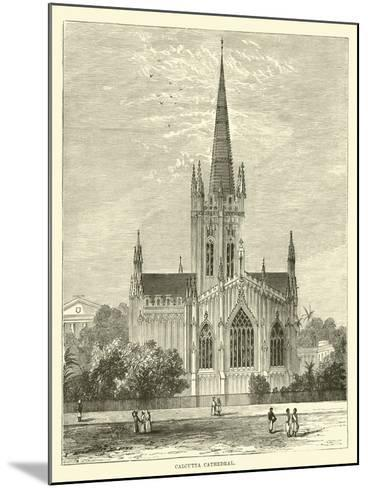 Calcutta Cathedral--Mounted Giclee Print