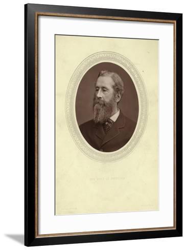 Portrait of James Hamilton, Duke of Abercorn--Framed Art Print