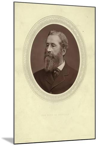 Portrait of James Hamilton, Duke of Abercorn--Mounted Photographic Print
