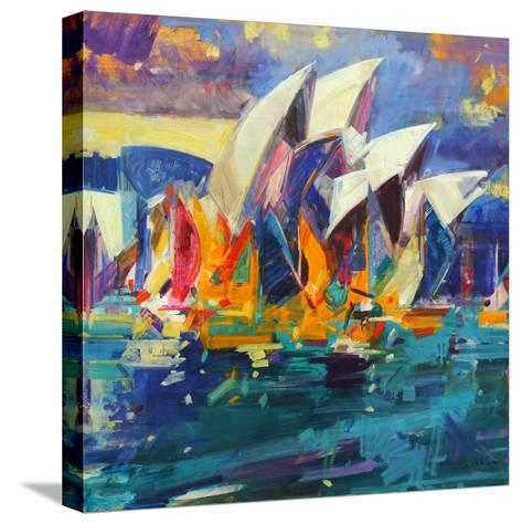 Sydney Flying Colours, 2012-Peter Graham-Stretched Canvas Print