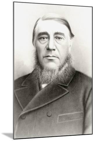 Stephanus Kruger--Mounted Giclee Print