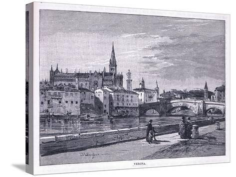 Verona-John Fulleylove-Stretched Canvas Print