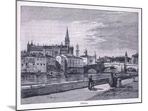 Verona-John Fulleylove-Mounted Giclee Print