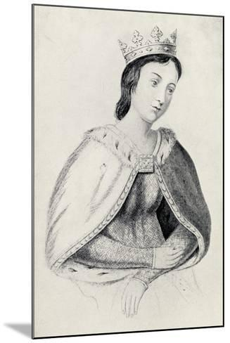 Eleanor of Provence--Mounted Giclee Print