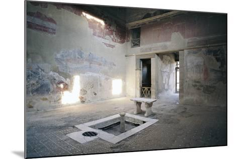 Impluvium, House of Mosaic Atrium, Herculaneum--Mounted Photographic Print