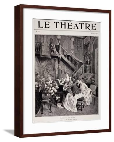 Jules Massenet--Framed Art Print