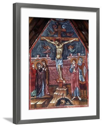 Crucifixion, 1494-Philippos Goul-Framed Art Print
