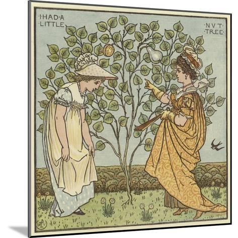I Had a Little Nut Tree-Walter Crane-Mounted Giclee Print