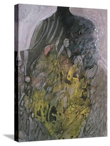 Untitled, 1981-Keshav Malla-Stretched Canvas Print