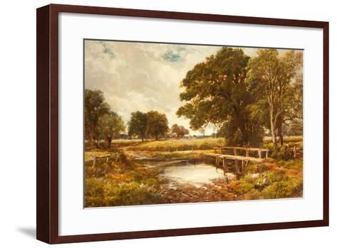 A Hampshire Ford, 1891-Edmund Morison Wimperis-Framed Art Print