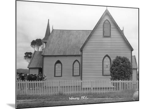 Waipu Presbyterian Church, 1951--Mounted Photographic Print