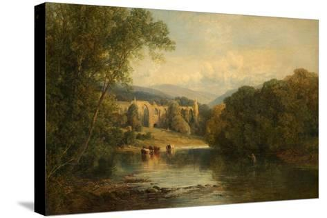 Bolton Abbey, North Yorkshire, 1858-Frederick William Hulme-Stretched Canvas Print