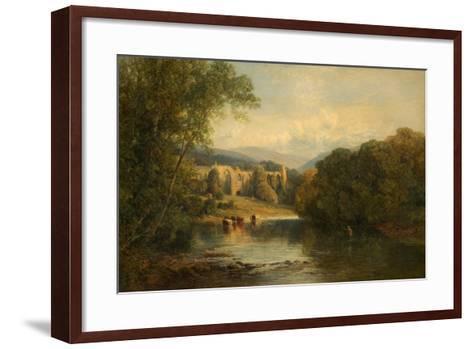Bolton Abbey, North Yorkshire, 1858-Frederick William Hulme-Framed Art Print