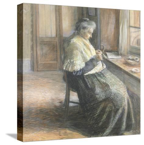 The Mother by Umberto Boccioni--Stretched Canvas Print