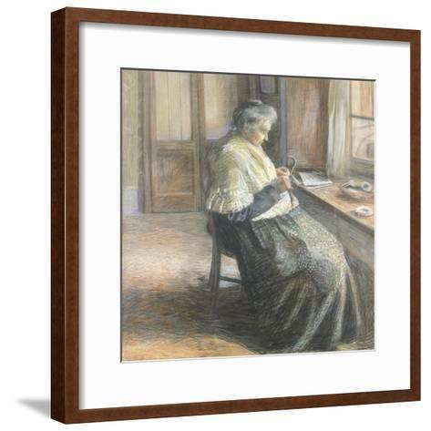 The Mother by Umberto Boccioni--Framed Art Print