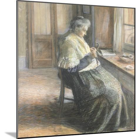 The Mother by Umberto Boccioni--Mounted Giclee Print