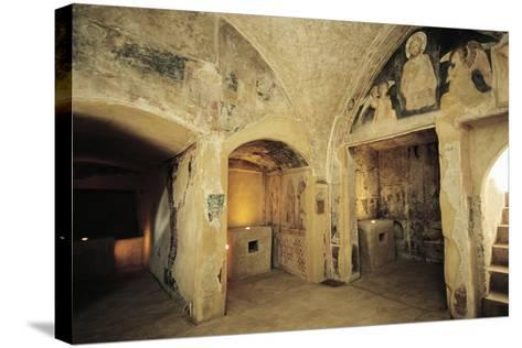 View of Crypt--Stretched Canvas Print