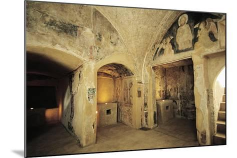 View of Crypt--Mounted Giclee Print