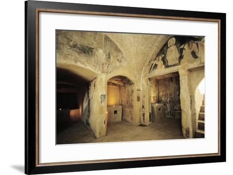 View of Crypt--Framed Art Print