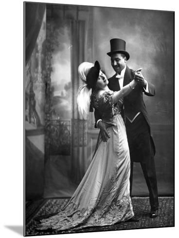 Portrait of Actors--Mounted Photographic Print