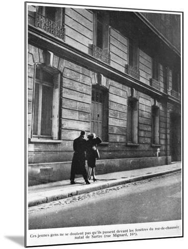 Birthplace of Jean-Paul Sartre--Mounted Photographic Print