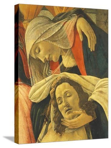 Lamentation over the Dead Christ, C.1490-1500-Sandro Botticelli-Stretched Canvas Print