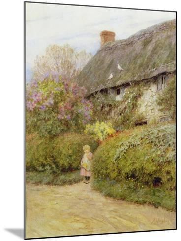 Freshwater Cottage-Helen Allingham-Mounted Giclee Print