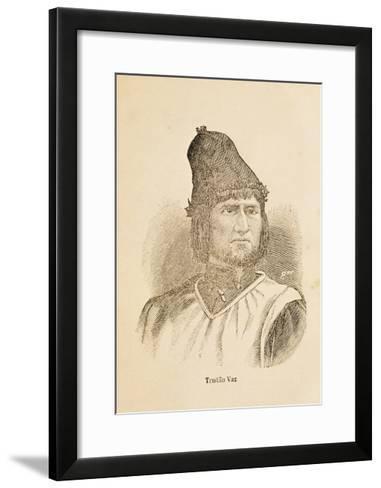 Portrait of Tristao Vaz Teixeira--Framed Art Print
