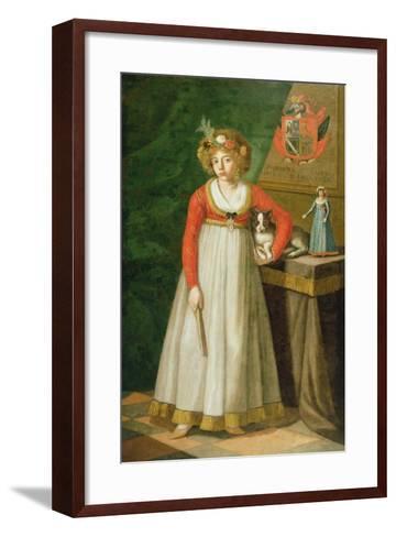 Portrait of Isidore, 1810--Framed Art Print