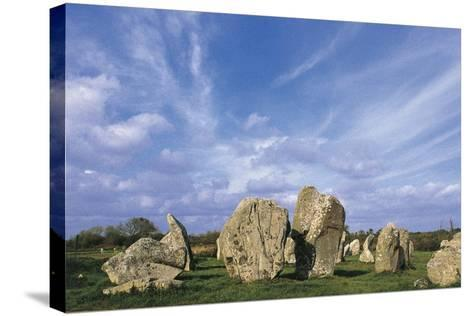 Alignments of Standing Stones--Stretched Canvas Print