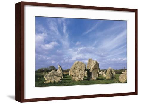 Alignments of Standing Stones--Framed Art Print