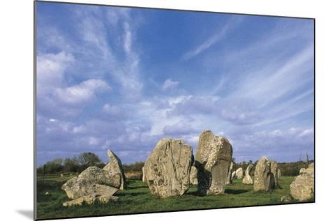Alignments of Standing Stones--Mounted Giclee Print