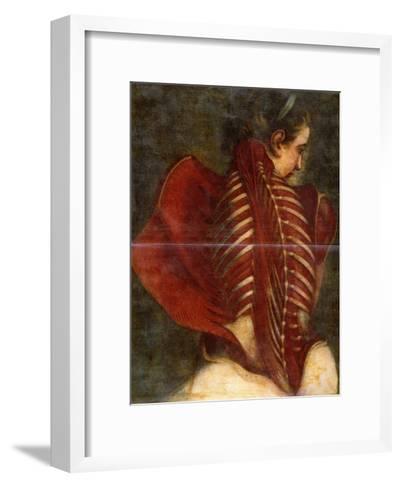 The Flayed Angel, C.1745-Jacques-Fabien Gautier d'Agoty-Framed Art Print