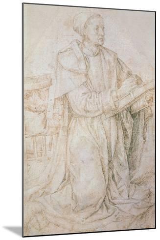 Meeting of Jacob and Rachel-Hugo van der Goes-Mounted Giclee Print