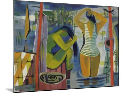 Women by a Lake, C.1945-50-Anneliese Everts-Mounted Giclee Print
