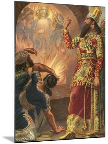 The Fiery Furnace--Mounted Giclee Print
