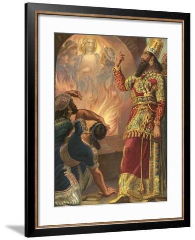 The Fiery Furnace--Framed Art Print