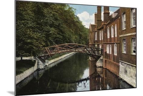 Queens' College, the Bridge--Mounted Photographic Print