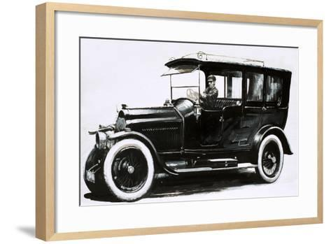 The Pic-Pic Limousine from Switzerland--Framed Art Print