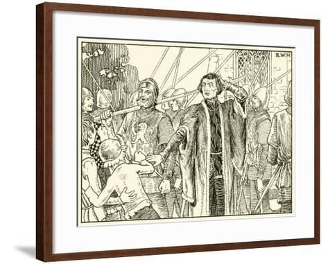 """Away with You Noisy Fellows""--Framed Art Print"