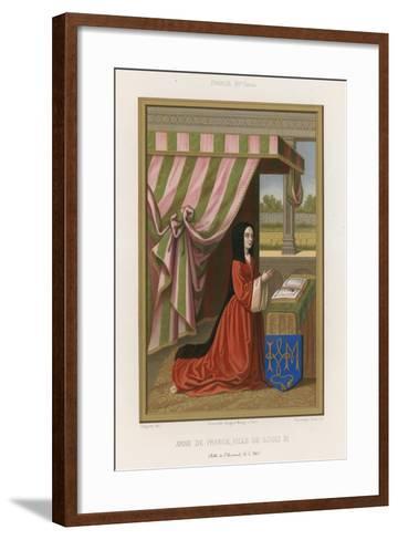Anne of France--Framed Art Print