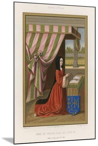 Anne of France--Mounted Giclee Print