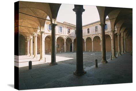 Cloister of Stars--Stretched Canvas Print