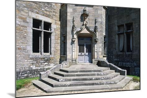 Access Way, Beaumanoir Castle--Mounted Giclee Print