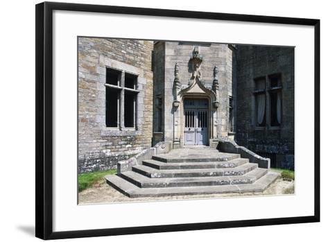 Access Way, Beaumanoir Castle--Framed Art Print