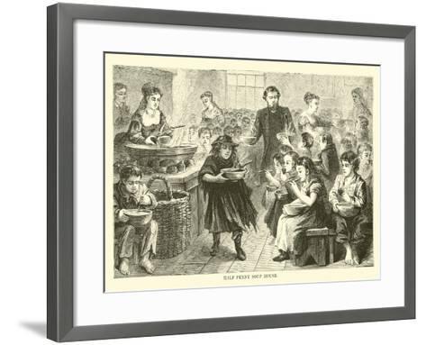 Half Penny Soup House--Framed Art Print