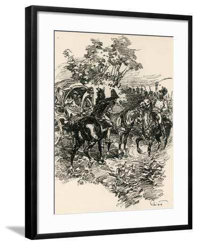 Illustration to War and Peace, by Leo Tolstoy--Framed Art Print